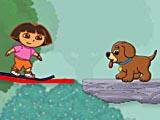 Дора спасает собаку