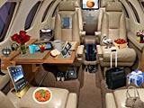 Объекты внутри самолета