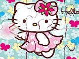 Hello Kitty: детский пазл