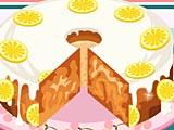 Лимонный бисквит