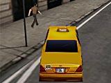 Нью-йоркское такси с лицензией 3Д