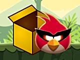 Красные птички в коробках