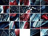 Человек паук: двигающиеся пазлы