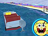 Губка Боб: лодочная гонка