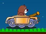 Медведь на танке
