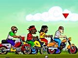 Городские гонки на мотоциклах