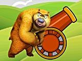 Пушка сумасшедшего медведя