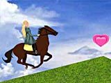 Верховая езда Барби