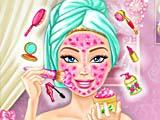 Барби: настоящий макияж