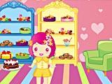 Украшение конфетного дома