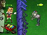 Кот и зомби война