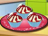 Кухня Сары вишневые кексы