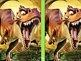 Ледниковый период: эра динозавров: найди отличия