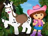 Дора и Пони: одевалка