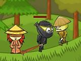 Ниндзя и слепая девушка