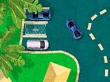 Райский пляж: парковка
