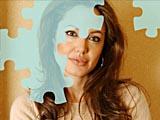 Анджелина Джоли: Пеппи пазл