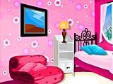 Розовая спальня подростка