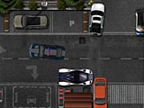 Полицейский автомобиль: парковка