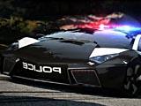 Полицейские авто: скрытые буквы