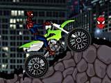 Человек паук на мотоцикле: вызов