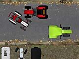 Милый трактор: парковка