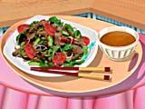 Кухня Сары тайский салат с мясом
