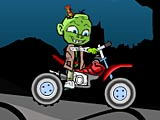 Зомби ребенок-байкер