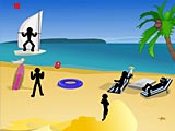 Стикмен: смерть на пляже