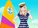 Барби: морской стиль