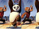 Кунг-фу Панда и друзья: найди отличия