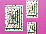 Розовый маджонг