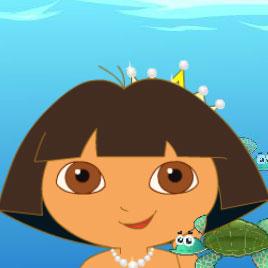 Дора: красивая русалочка