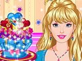 Украшение кексов Барби