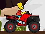 Барт Симпсон: вождение квадроцикла