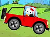 Hello Kitty: вождение авто