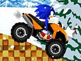 Соник на квадроцикле: снежный водила