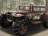 Стимпанк гонка грузовика