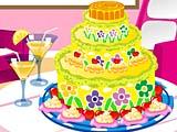 Летний торт: украшения