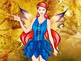 Осенняя фея: одевалка / Autumn Fairy Dress