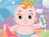 Ребенок в ванной / Baby In The Bath