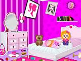 Уборка комнаты Барби