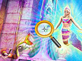 Барби в Сказке Русалочки: скрытые буквы (Barbie in Mermaid Tale Hide & Seek)