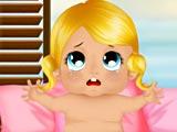 Пляжное развлечение малыша