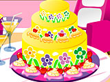 Летнее украшение торта / Summer Cake Decorating