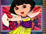 Дора балерина: одевалка (Dora Ballet Dressup)