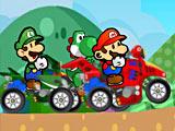 Конкуренты Марио на квадроцикле / Mario Atv Rival