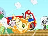 Марио бьет зомби / Mary Bump Against a Zombie