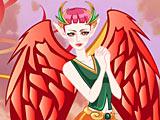 Девушка-Феникс: одевалка / Phoenix Girl Dressup