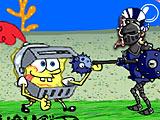 Губка Боб - подводный воин